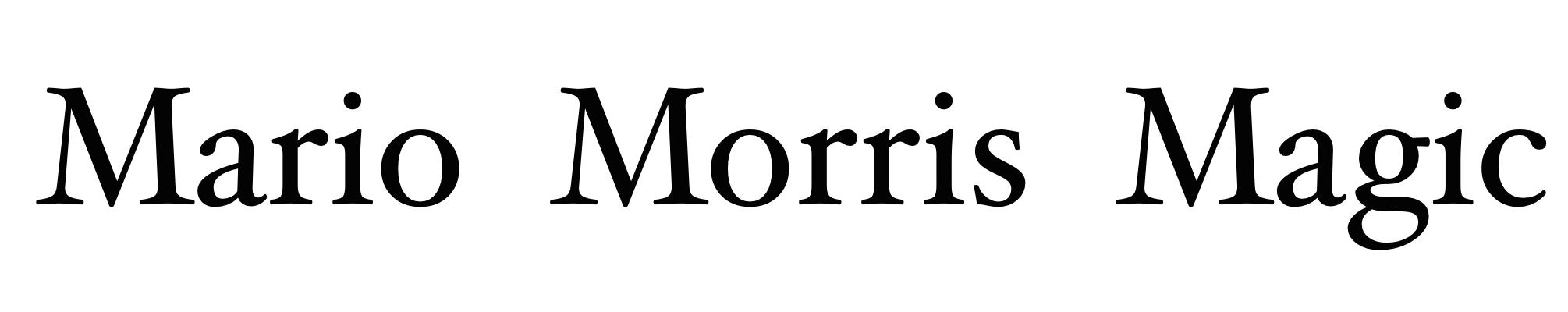 MarioMorris